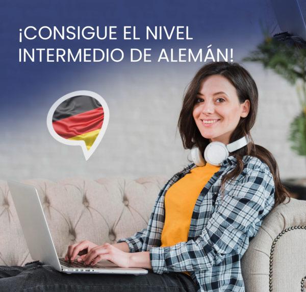 curso online nivel intermedio aleman