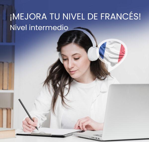 curso online nivel intermedio frances